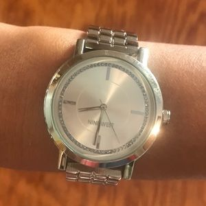 Silver Nine West watch